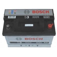 BOSCH Silver S3 12V 70Ah Jobb+