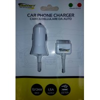 Car Charger with U..