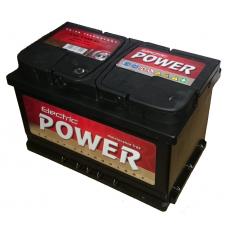 ELECTRIC POWER 12V 72Ah Jobb+ SMF (zárt varázsszemes karbantartás mentes akkumulátor)