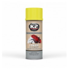 K2 BRAKE CALIPER PAINT 400ML - FÉKNYEREG FESTÉK - SÁRGA