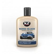 K2 BONO BLACK 200G - MÜANYAG ÉS GUMI SZINEZÖ - FEKETE