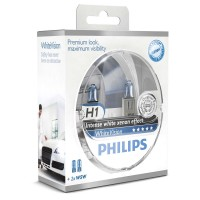 Philips White Vision H1 + W5W 12V DUO