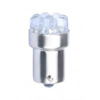 LED L033B- BA15s, 9x flux, blue