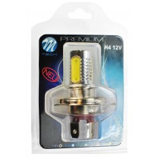 Blister 1x LED X14 - H4 4x1,5W HP 6W 12V White