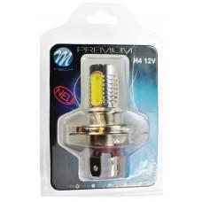 Blister 1x LED X14 - H4 4x1,5W HP 6W 12V White