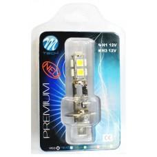 Blister 1x LED H1 X31 - 9xSMD5050 Fehér
