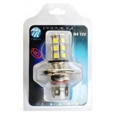 Blister 1x LED X44 - H4 18xSMD5050 12V White