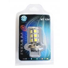 Blister 1x LED X47 - H7 18xSMD5050 12V White