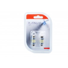 Blíster 2x LED bulb L344W - C5W 36MM 24xSMD3014 Canbus White