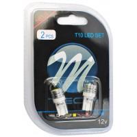 Blister 2x LED L014 - W5W HP White