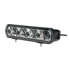 Driving Light Bar - Single Row - Bottom Bracket, CREE 40W Flood