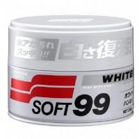 SOFT99 White Soft Wax 350g  - WAX Fehér fényezésű felületekre