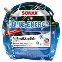 SONAX Szélvédőmosó - Jégoldó, Zacskós kiszerelés, -20°C, 3Liter